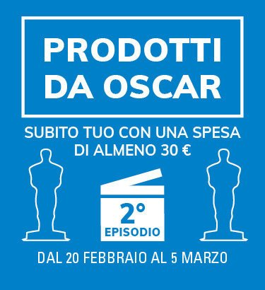 Prodotti da Oscar