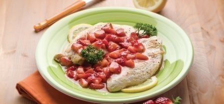 SCALOPPINE ALLE FRAGOLE
